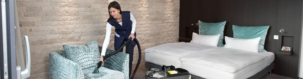 pulizia albergo roma